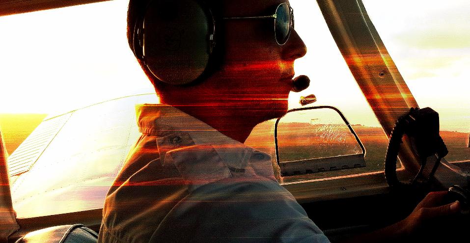 安西副操縦士のログブック